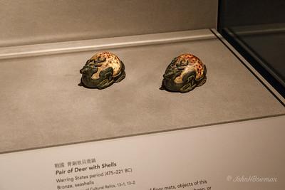 Bronze & Seashell Deer