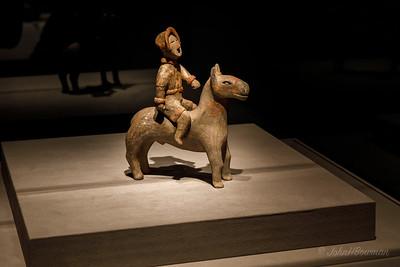 Earthenware Mounted Warrior