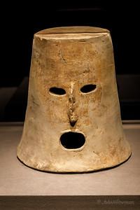 Earthenware Cylindrical Mask