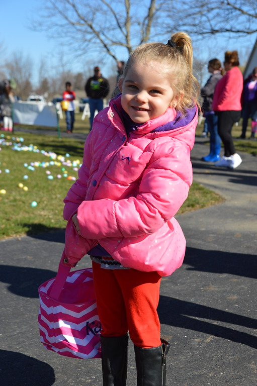 . Local families celebrated Easter early during the Richmond Parks and Recreation Department\'s 22nd annual Easter Egg Scramble at Beebe Street Park on April 8. (Photos by Meg LeDuc)