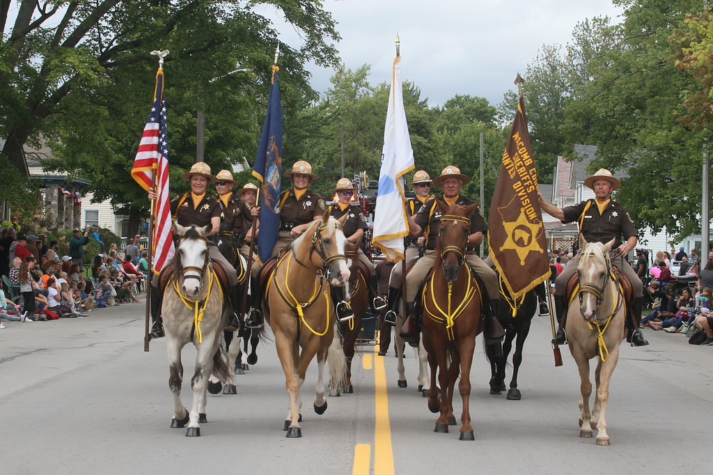 . A variety of groups marched in Richmond\'s Great Michigan Parade, which took place Sept. 8 during the Richmond Good Old Days Festival. (Photos by Dave Angell)