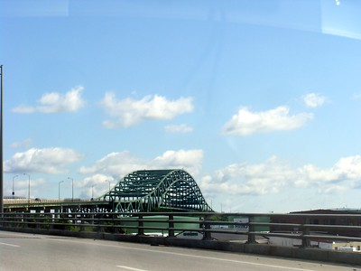 When I cross this bridge I will be in Maine.