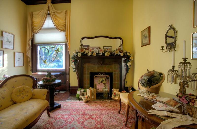Bridal Room facing Fireplace