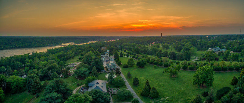 Maymont Sunset Panorama