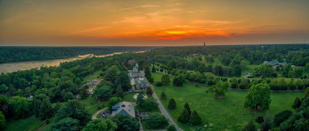 Maymont Sunset Panorama