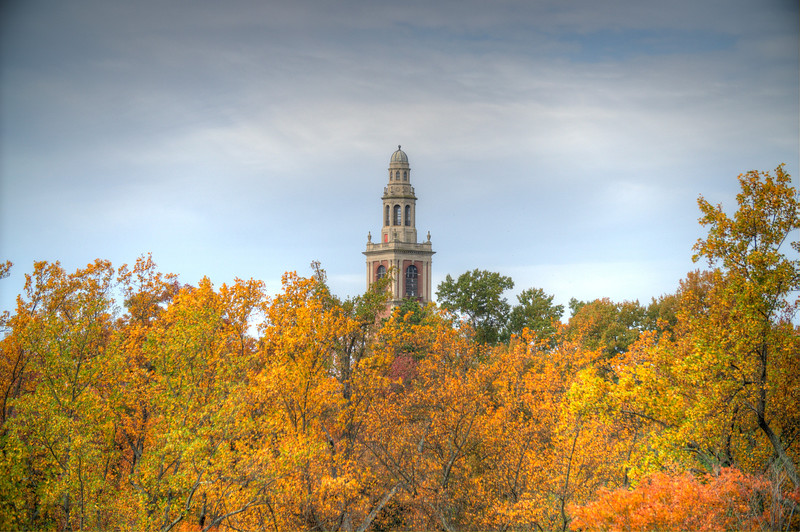 Carillon with autumn colors