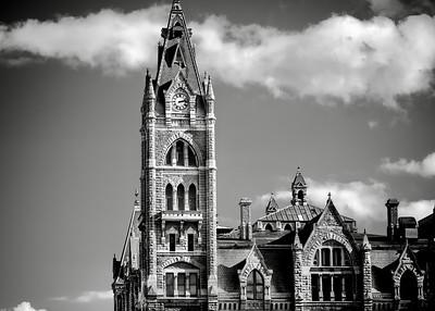old city hall roofline