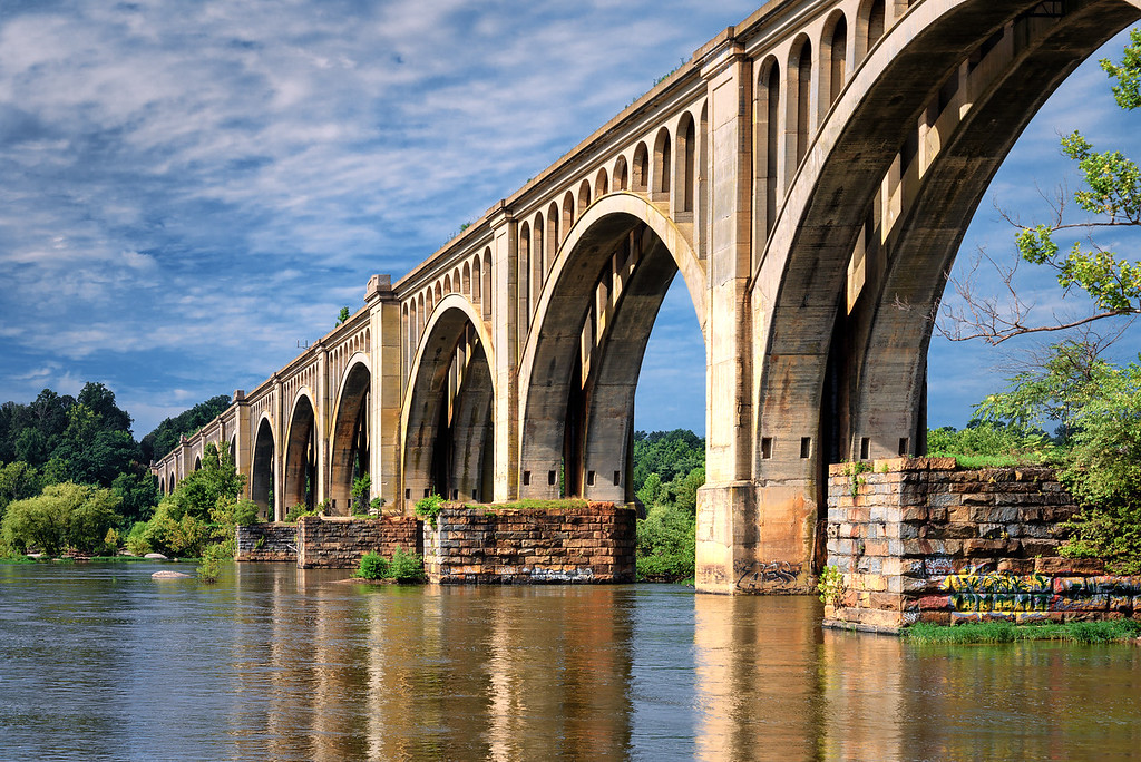 Arching Over The James
