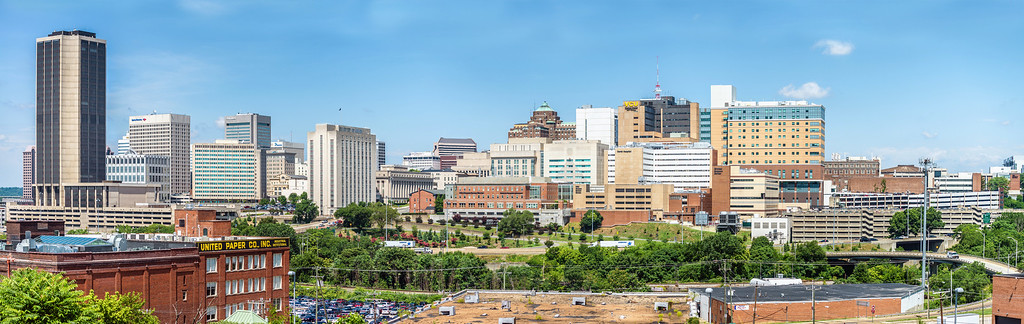 Richmond and VCU Skyline Panorama