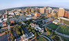 Richmond Cityscape - wide angle