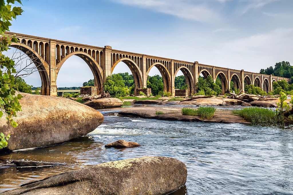 James River Rail Bridge -- RVA