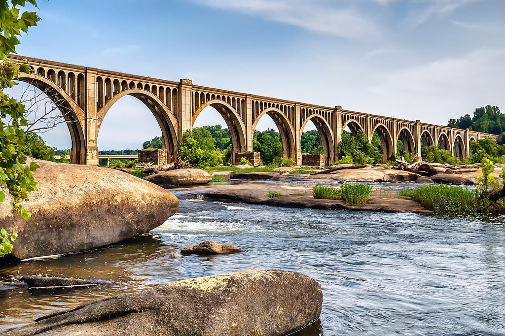 James River Rail Bridge -- RVA