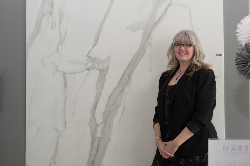 Karen Colburn, Urban Stone Surfaces (not pictured, Owner Phil Brindle, Account Manager Jo Brush)