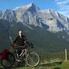 Biking the Banff Legacy Trail 8-29-15.