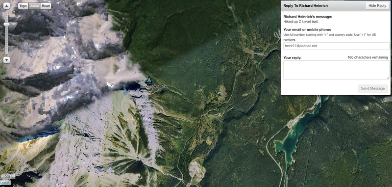 C Level Trail Banff_Aerial View9-1-15