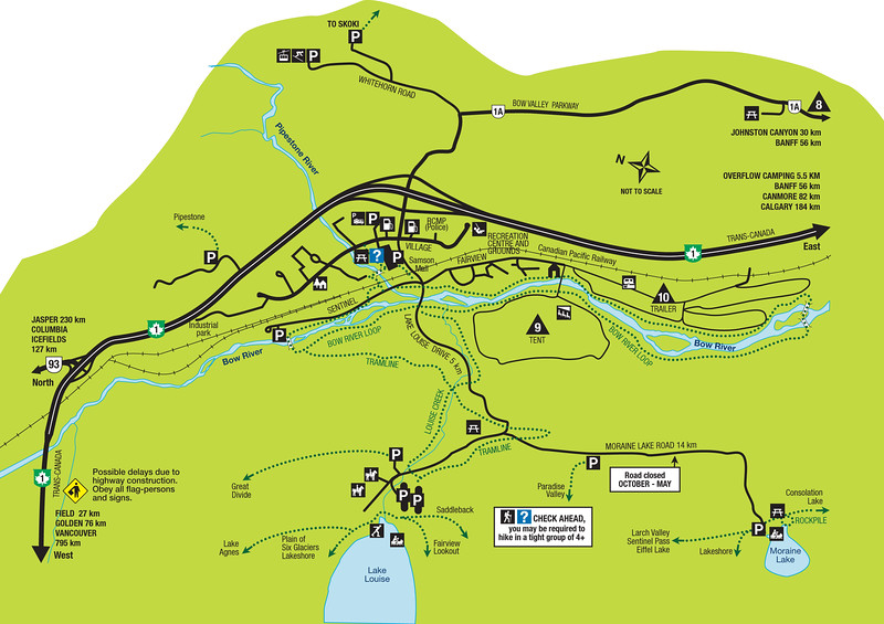 Lake-Louise map