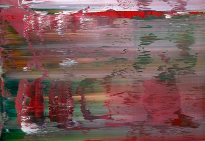 Richter. Abstraktes Bild.