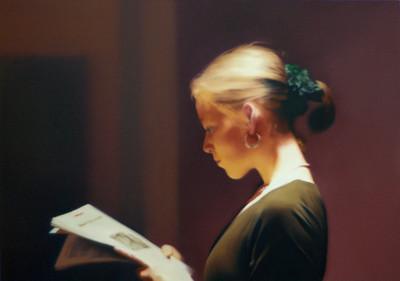 Richter. Lesende (Reader). 1994.