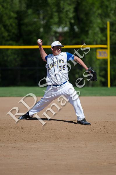 2012 Hampton Freshmen Baseball