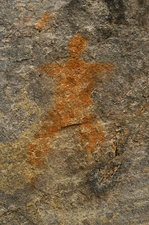 Indian Pictograph, Oregon-2
