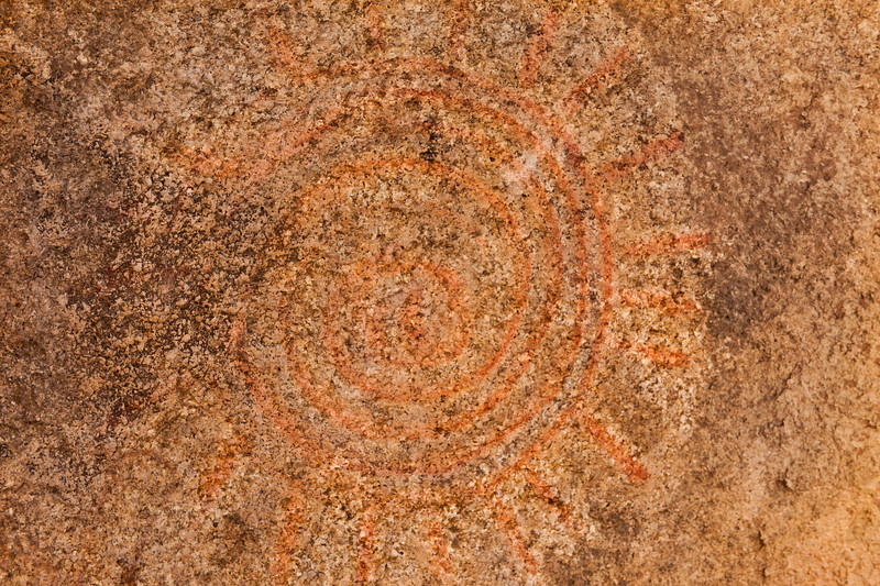 Indian Pictograph, Alabama Hill, Lone Pine, CA