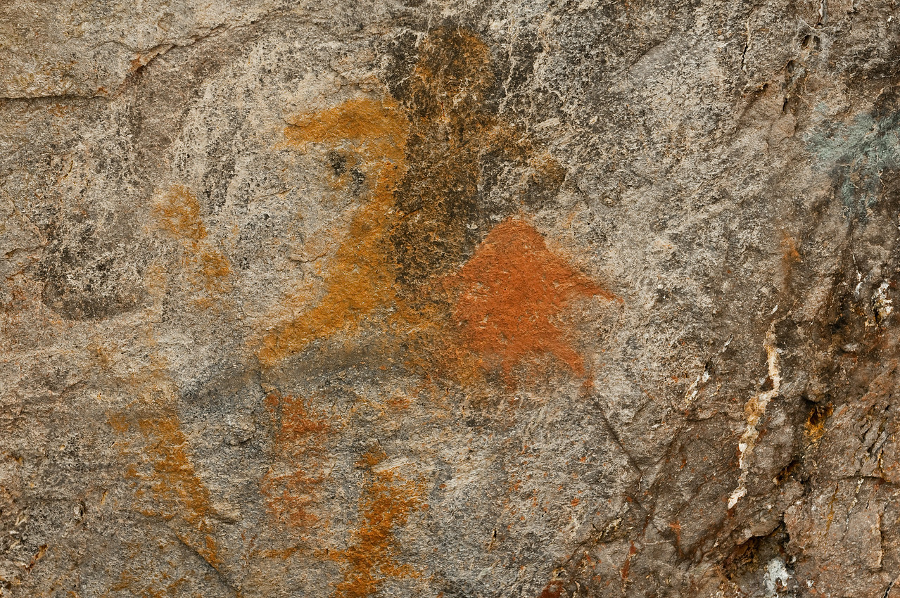 Indian Pictograph, Oregon