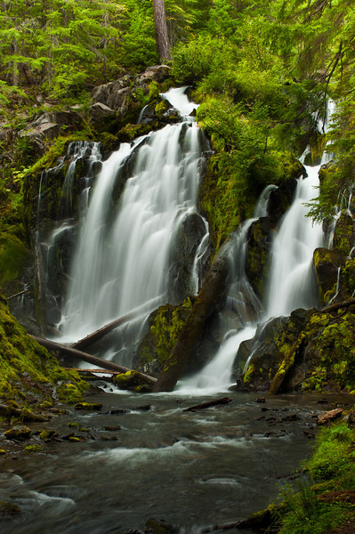National Creek Falls, OR