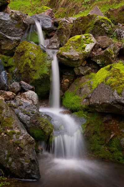 Waterfall, Mt. Diablo, CA