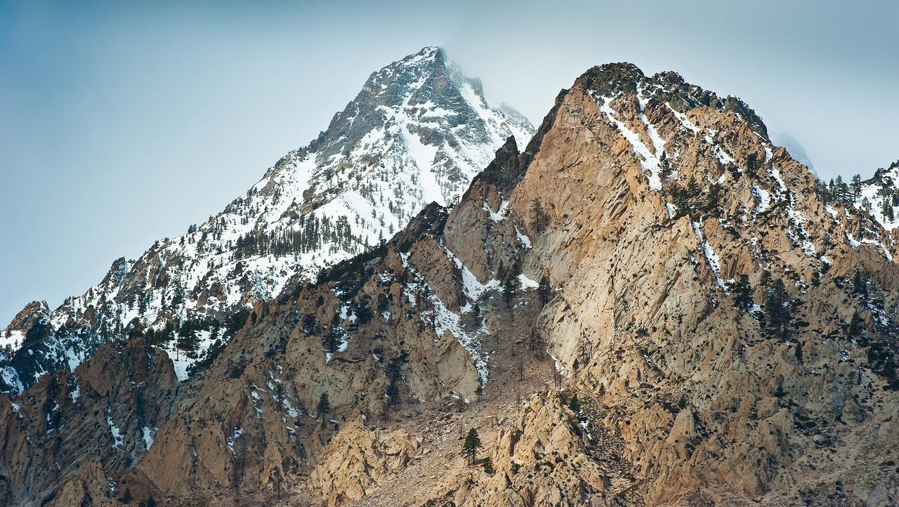 Mt. Peaks, Owens Valley. CA