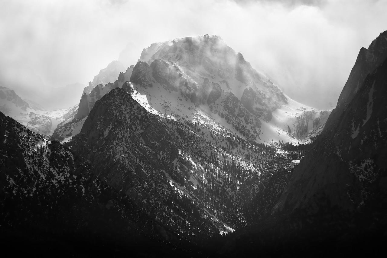 Mt. Whitney Range. Lone Pine