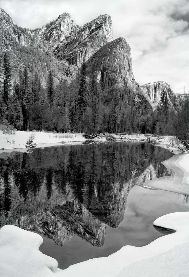 Reflection, Yosemite, CA