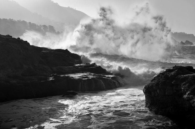 Waves, Point Lobos - CA
