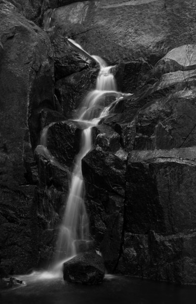 Pin Wheel Falls Side Creek, Yosemite