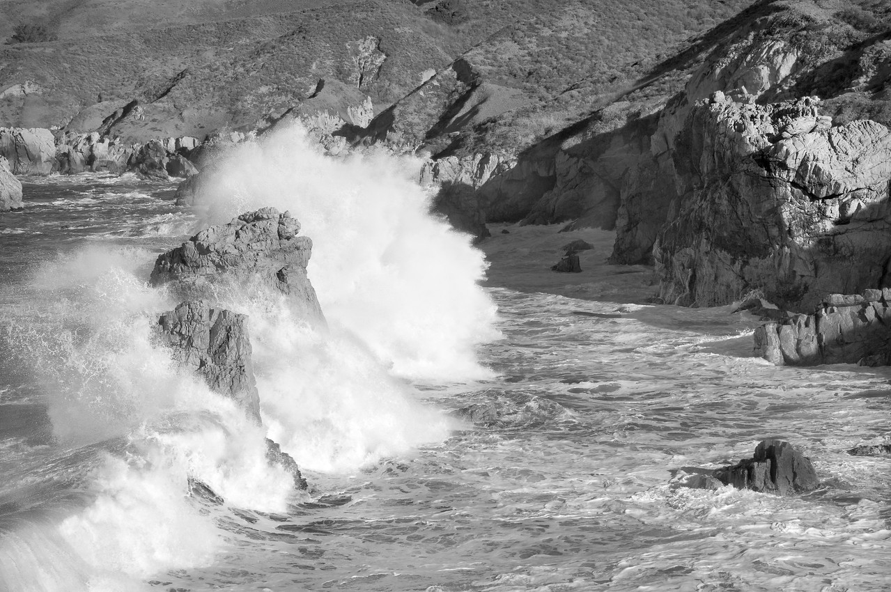 Waves, Big Sur, CA