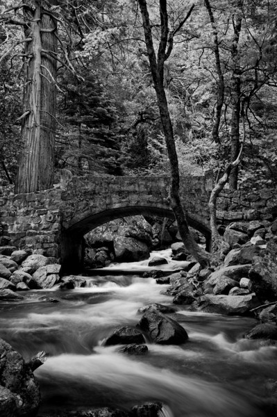 Bridge Yosemite Valley