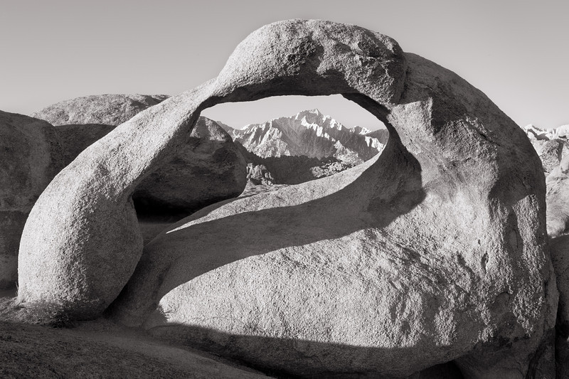 Mobious Arch - Alabama Hills, Lone Pine, CA