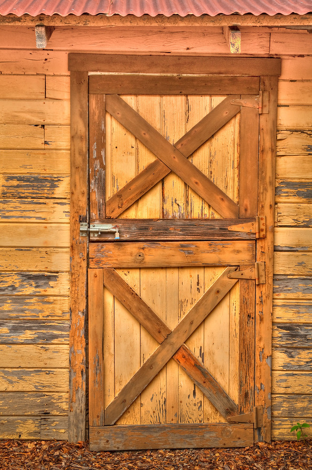 HDR Door, Borges Ranch