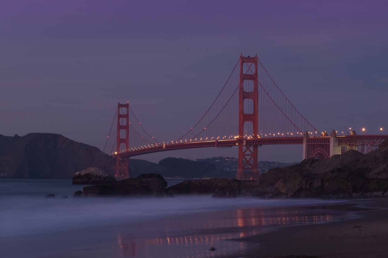 Golden Gate Bridge - Baker Beach
