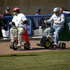 Tricycle races inbetween innings