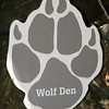 Here's the sign... Told ya it was the wolf den...