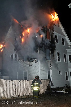 3 Alarm Structure Fire - 26 Kendall St, Lawrence, MA - 3/2/17