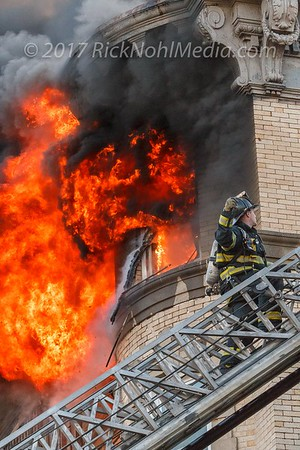 5 Alarm Structure Fire - West Baltimore St, Lynn, MA - 1/1/2017