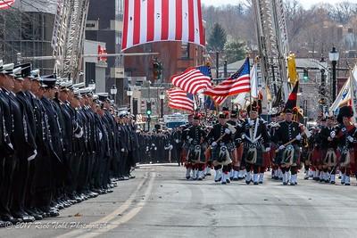 LODD Funeral - FF Toscano, Watertown, MA - 3/22/17