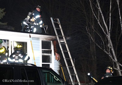 Structure Fire - 90 Myrtle Ave, Wakefield, MA - 4/7/17