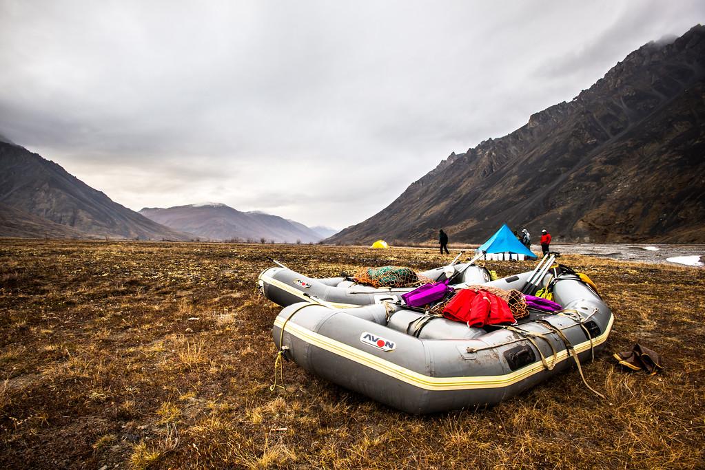 Rafts await