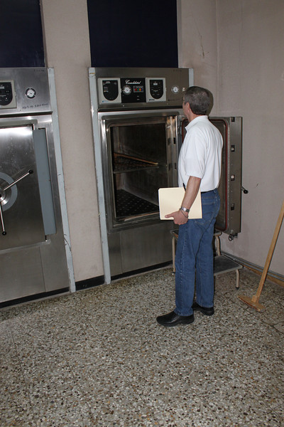 Assessing autoclaves..