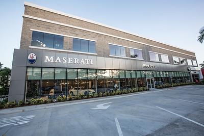 Rick Case Maserati Ribbon Cutting Grand Opening Celebration