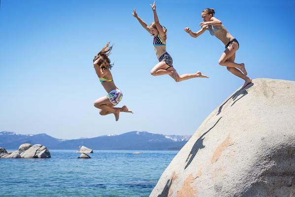 Lake Tahoe Rock Jumpers