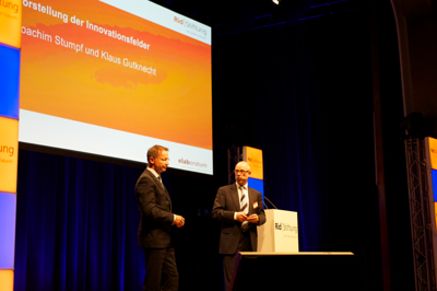 Innovationsfelder | Moderation: Prof. Dr. Klaus Gutknecht, elaboratum und Joachim Stumpf, BBE-Handelsberatung