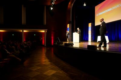 Rid Innovationskongress 2013 | Peter Habit, Rid-Stiftung | Moderation: Prof. Dr. Klaus Gutknecht, elaboratum und Joachim Stumpf, BBE-Handelsberatung